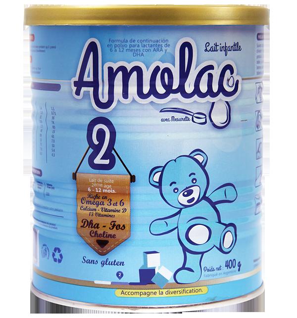 AMOLAC 2: Giàu Oméga 3 và 6, Canxi, Vitamin D, DHA, Choline và 13 loại vitamin, tốt cho sự phát triển của trẻ nhỏ